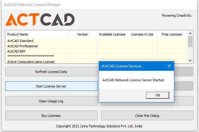 Network license steps