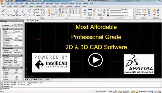 Actcad Software Intellicad Autocad Alternative Autos Post
