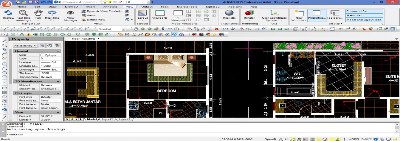 actcad cad software intellicad autocad alternative. Black Bedroom Furniture Sets. Home Design Ideas