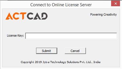 actcad nls online activation